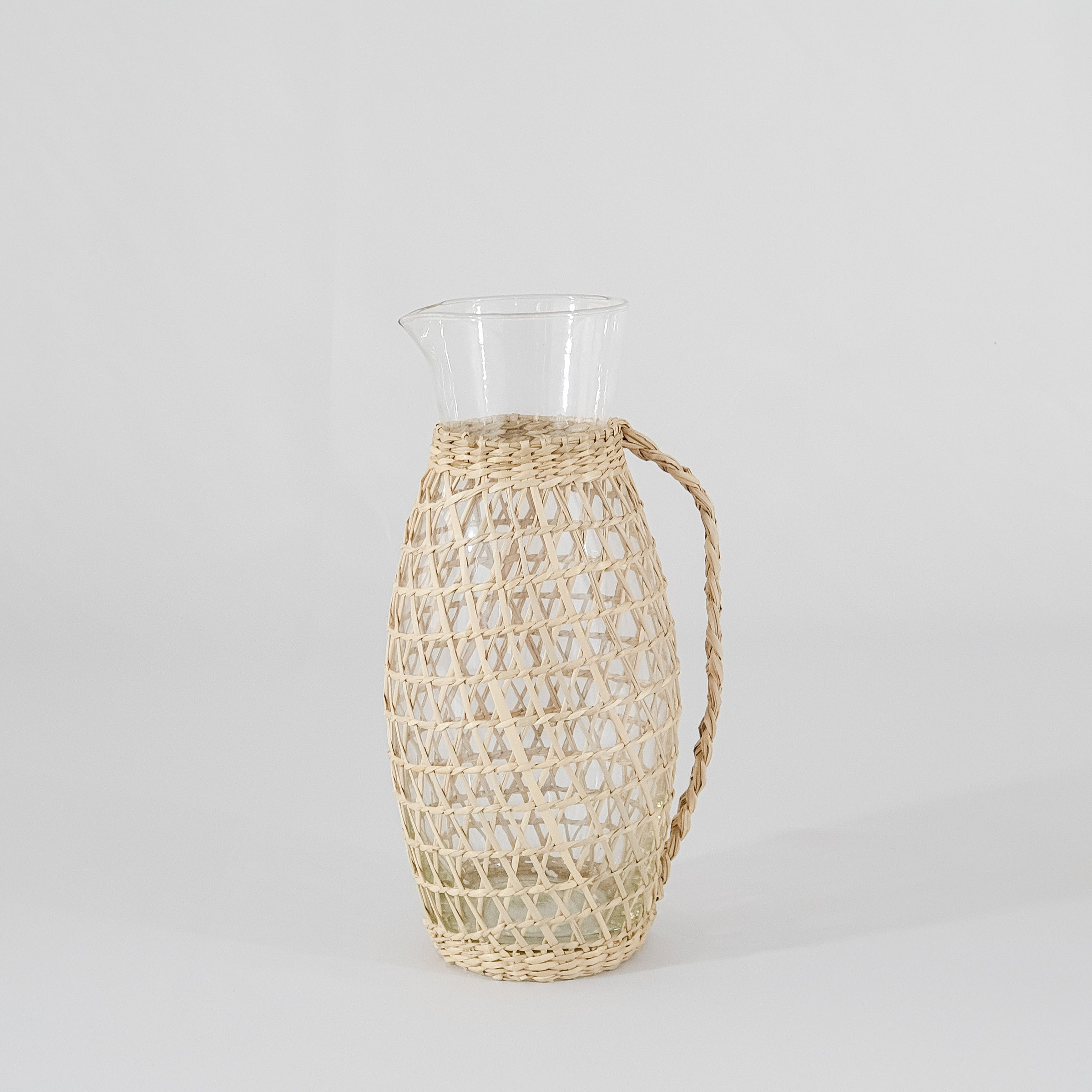 Seagrass Pitcher With Handle