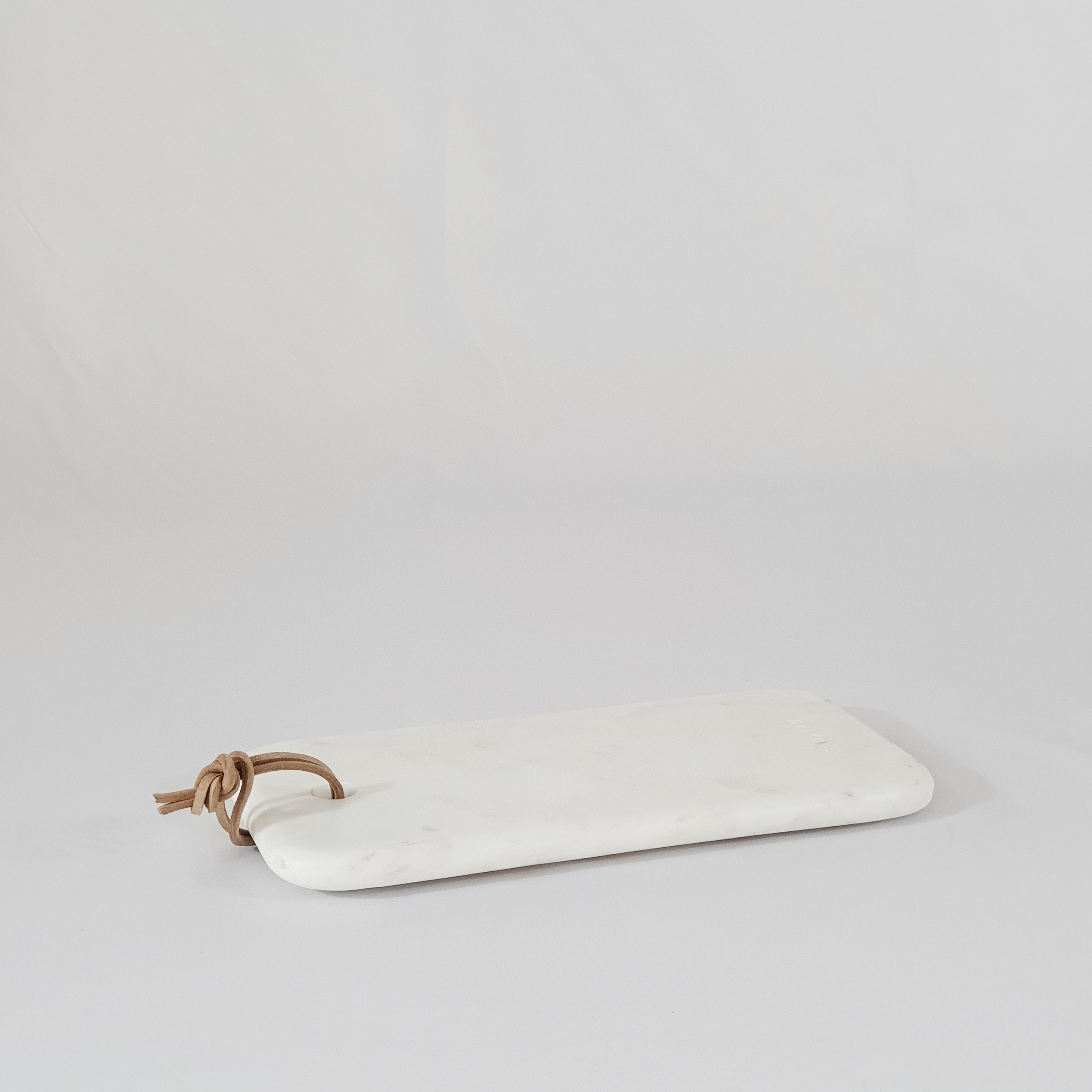 Marble Cheese Board - White