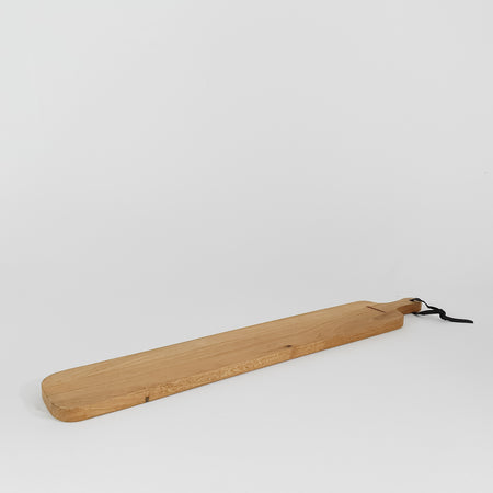 XL Stripe Oak Paddle Bread Board