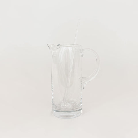 Glass Pitcher and Stirrer - KM Home