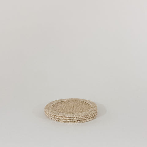 Round Coasters, Flax