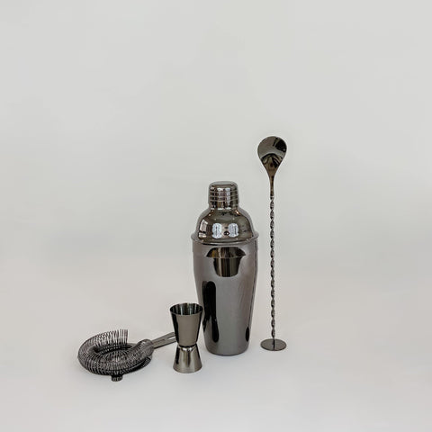 Bareware Set, gunmetal black