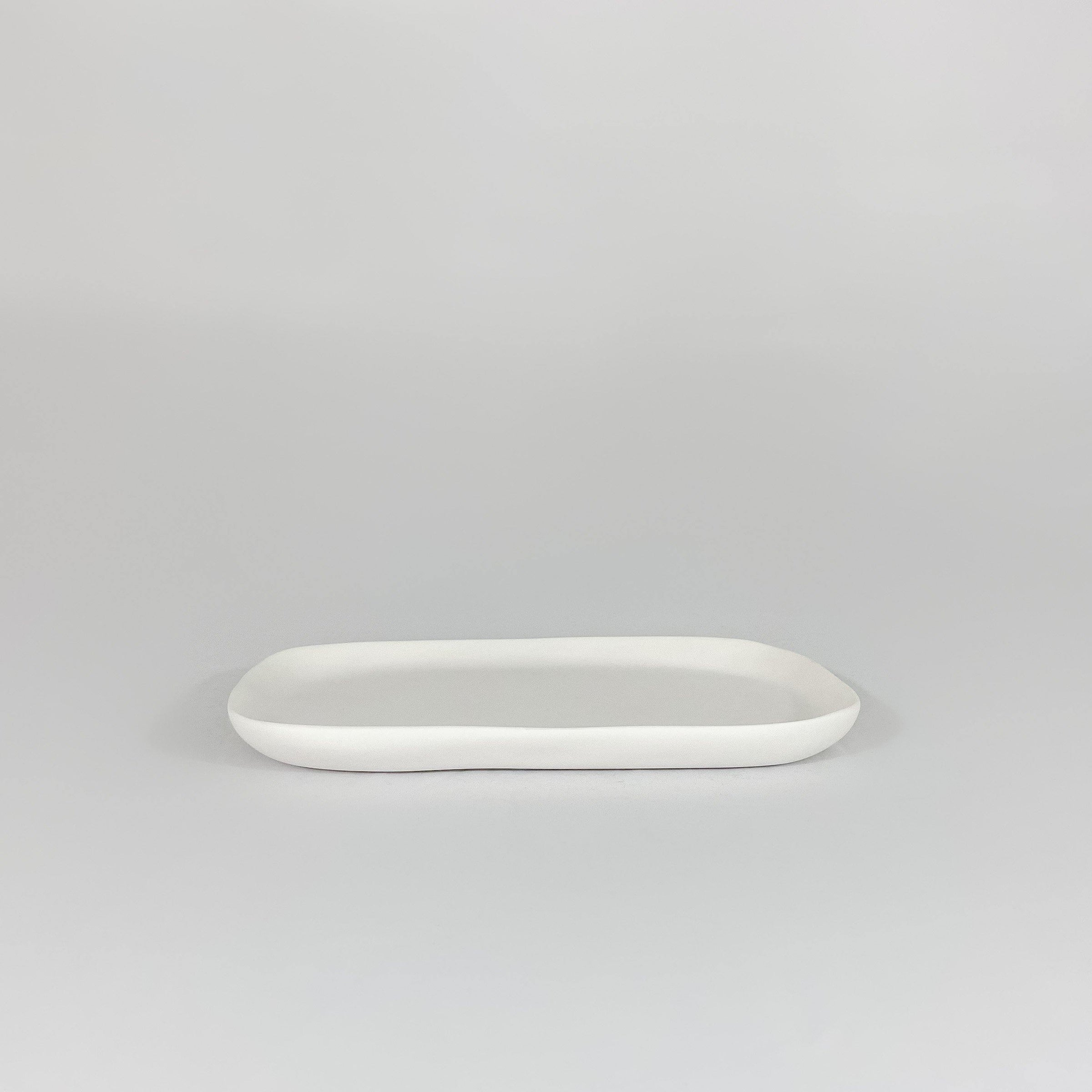 Guest Towel Tray - White