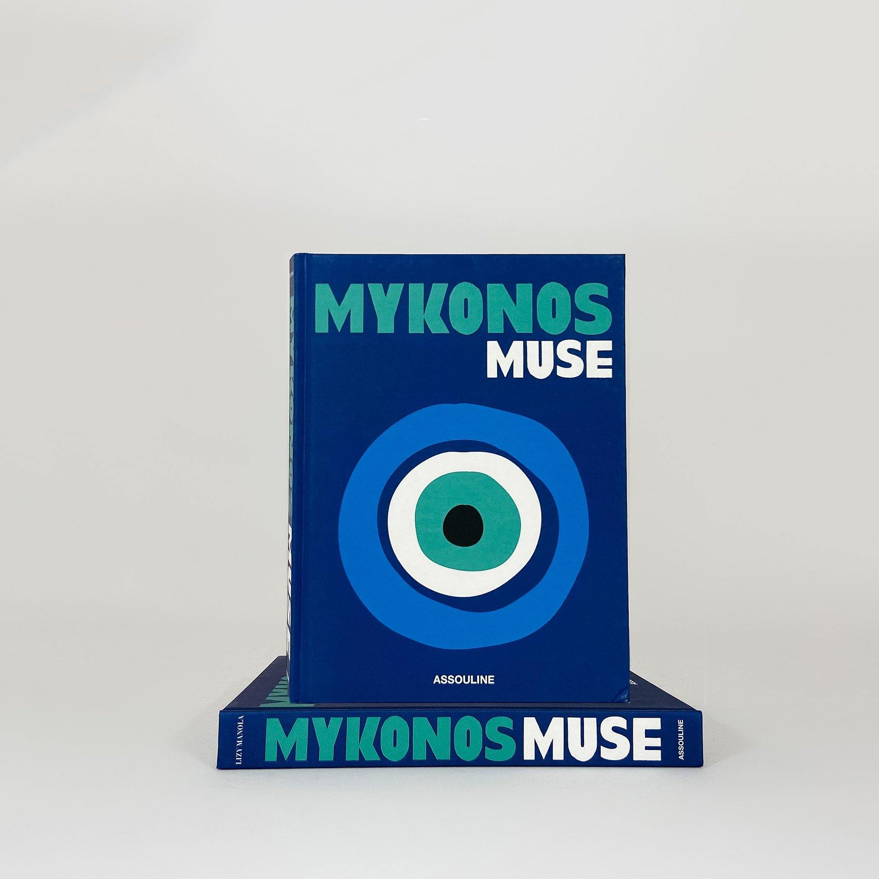 Mykonos Muse, Book - KM Home