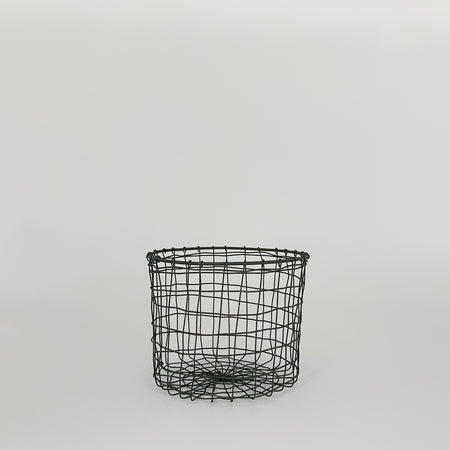 Round Wire Iron Basket