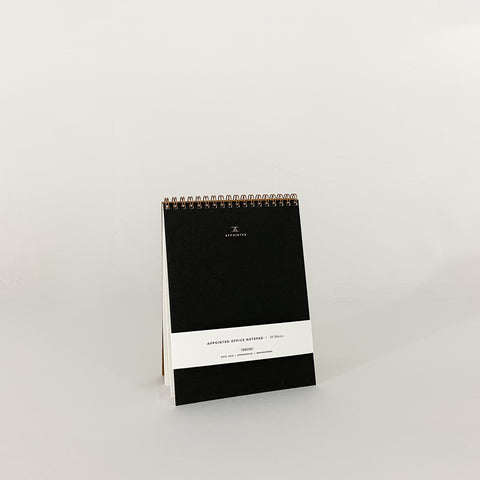Office Notepad - Charcoal Grey