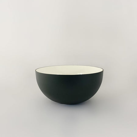 Aluminum and Enamel Bowl - Large