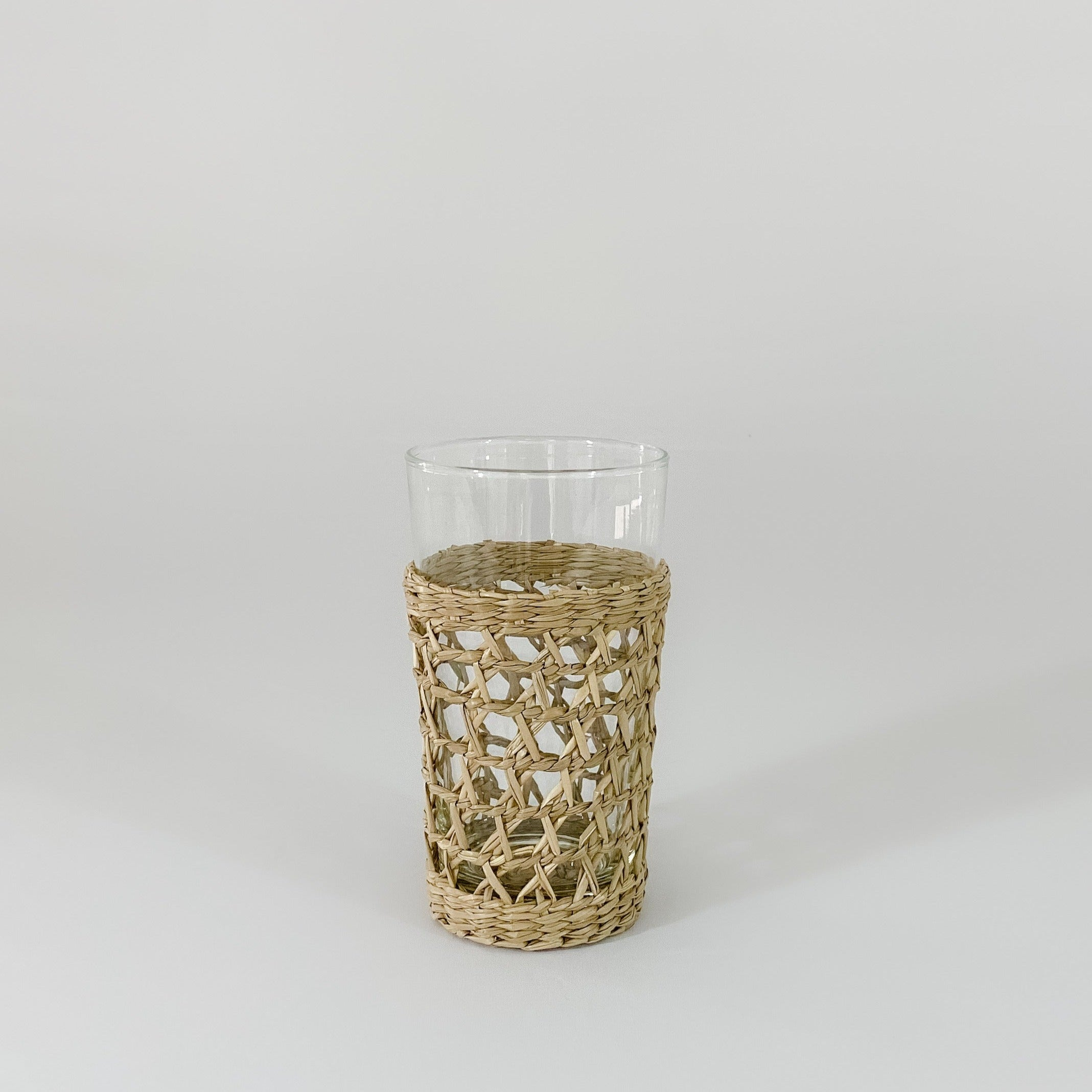 Seagrass Cage Highball Glass
