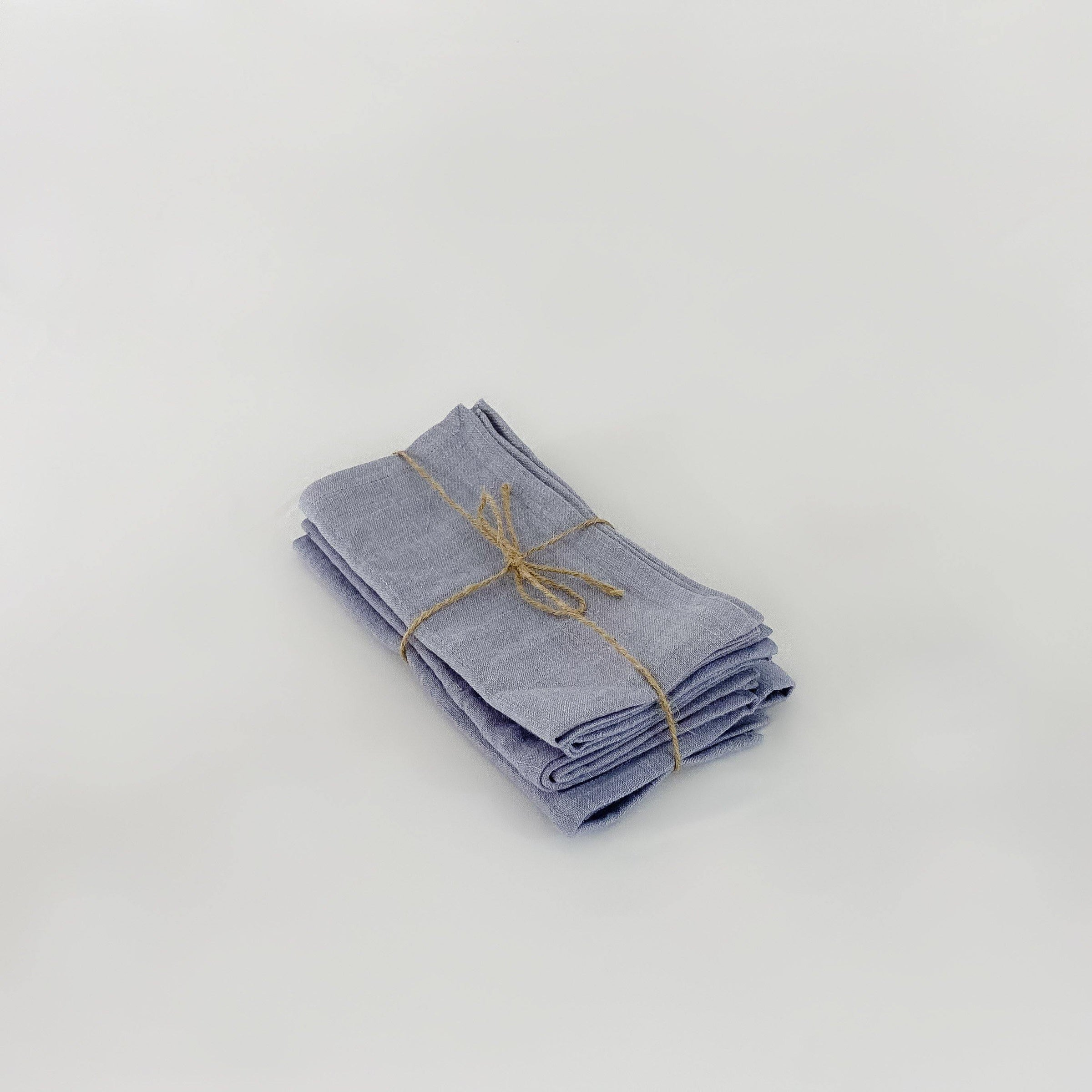 Chambray Linen Napkins, set of 4 - KM Home