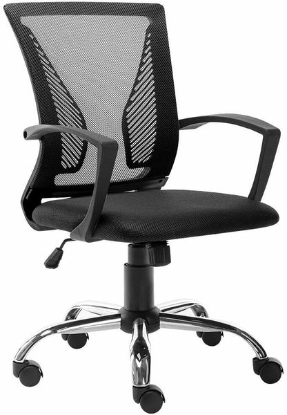 Ergonomic Office Chair Desk Home Executive Computer Chair Adjustable Swivel Mesh Task Chair