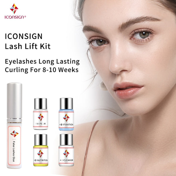 Dropshipping Lash Lift Kit Makeupbemine Eyelash Perming ICONSIGN Calia Perm Set Can Do Your Logo And Ship By Fast Shippment