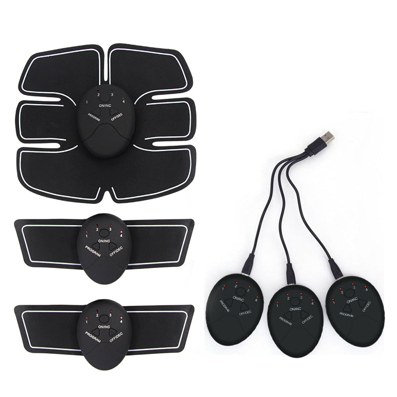Abdomen Muscle Stimulator Fitness Training Exercise Kit