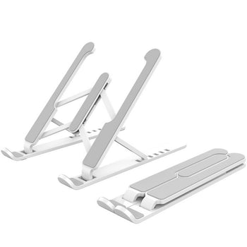 Foldable Laptop Stand Lightweight Adjustable Notebook Holder Macbook Air/Pro