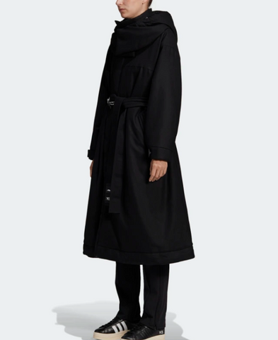 Y-3 CH3 FLANNEL HOODED COAT
