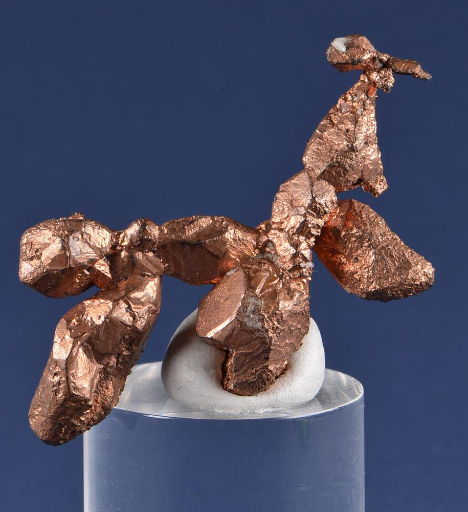Copper from New Cornelia Mine, Ajo, Pima Co.,  Arizona