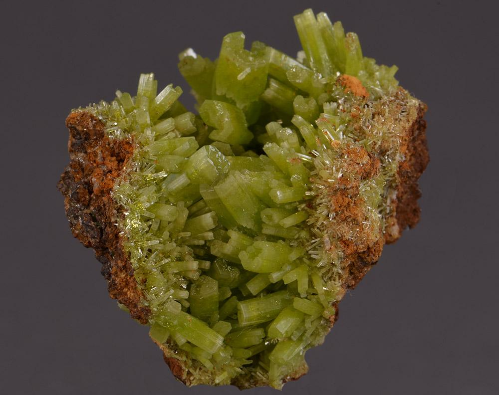 Pyromorphite from Daoping Mine, Guangxi Province, China