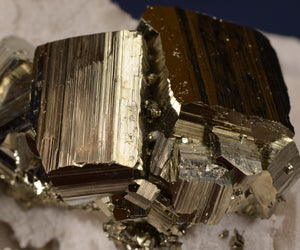 Pyrite from Racracancha Mine, Pasco Dept., Peru