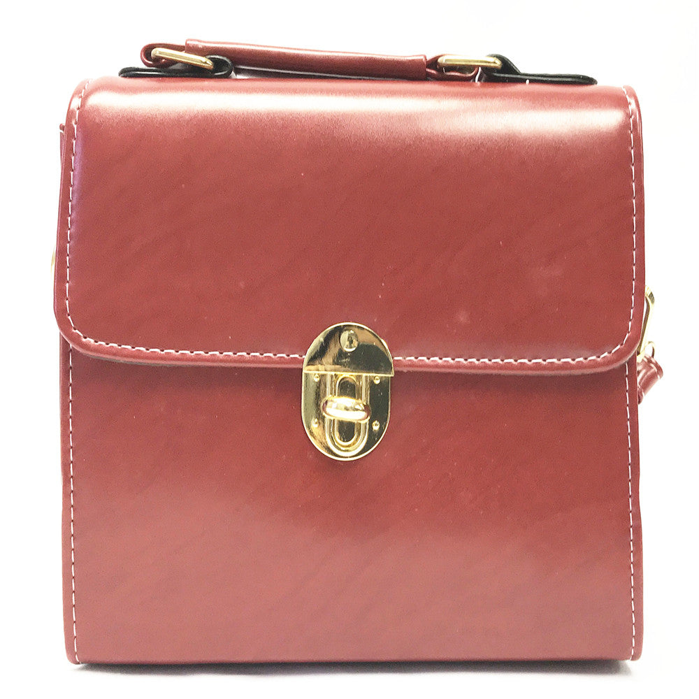 237 cross body red