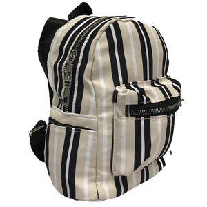 Back pack 6810 white-yellow