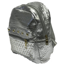 Load image into Gallery viewer, Back pack 6889 silver