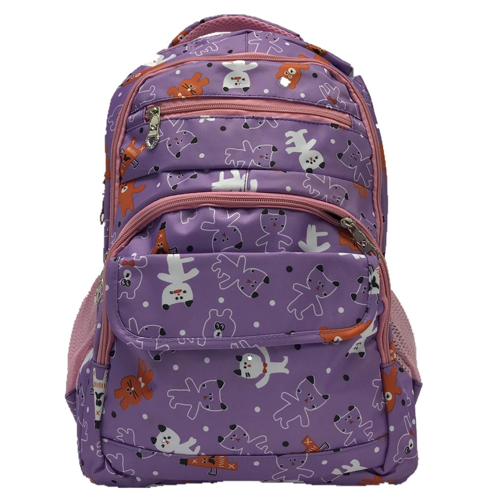 Back pack 8962 purple