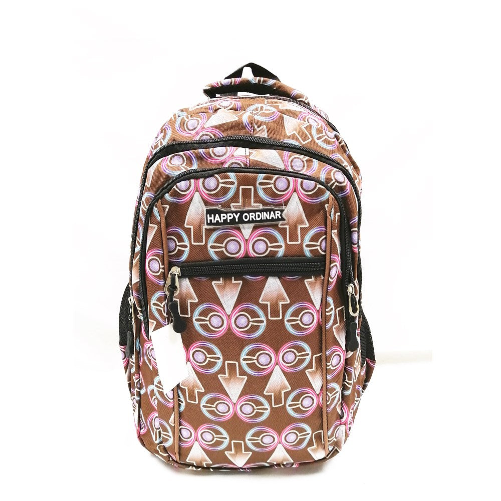 Back pack 9894 brown