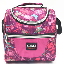 Load image into Gallery viewer, Lunch bag CL691 pink flower