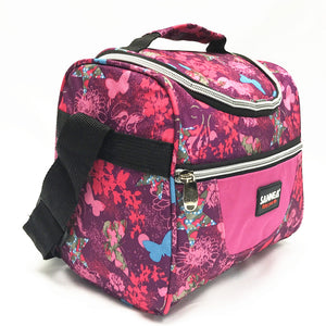 Lunch bag CL691 pink flower