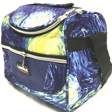 Load image into Gallery viewer, Lunch bag CL691 blue flower
