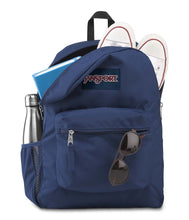 Load image into Gallery viewer, JanSport Cross Town Backpack Navy