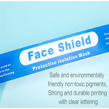 Load image into Gallery viewer, Face shield free during COVID-19 ( 200 pieces offer) for online customers only