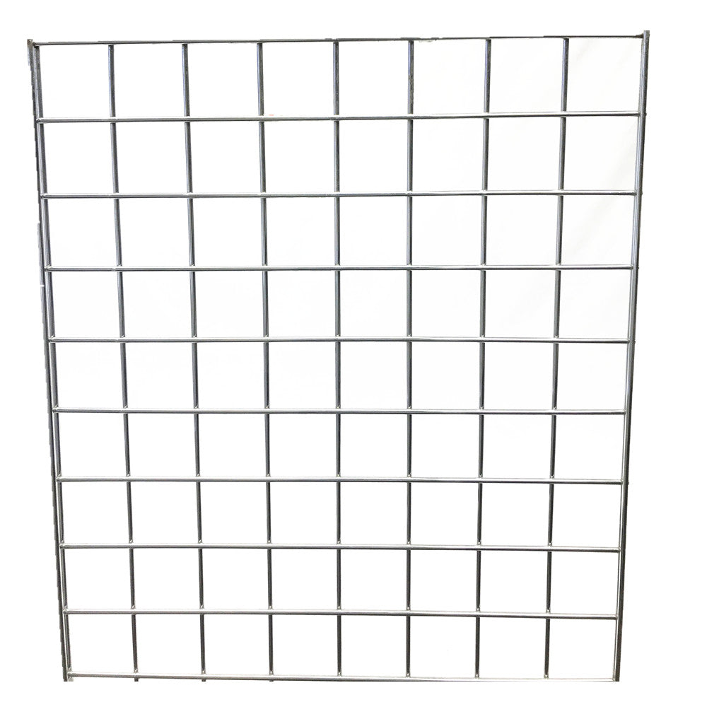 GRIDWALL PANEL CHROME 1.3'X5'