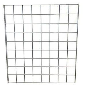 GRIDWALL PANEL CHROME 2'X5'