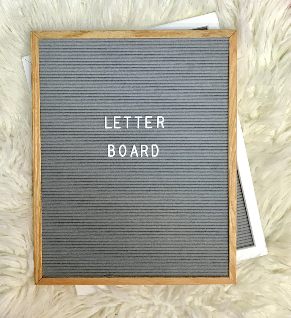 "Letter Board 16""x20"" 