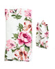 Ella Floral Oversized Blanket + Headband Set