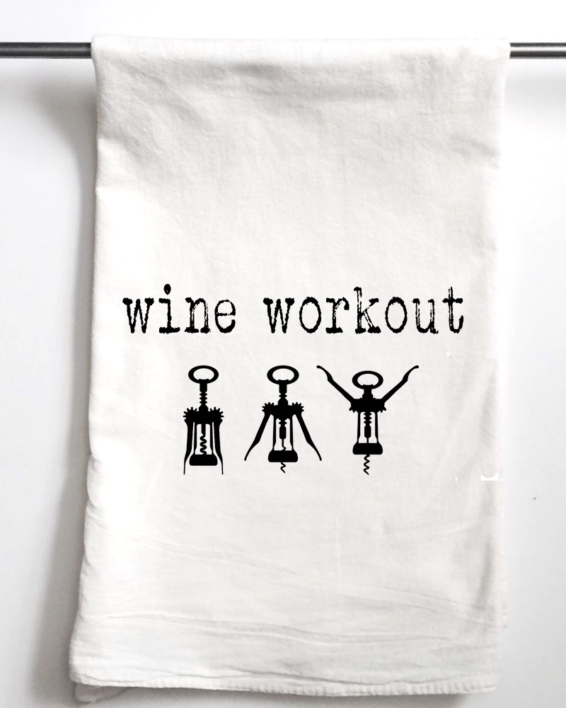 Wine Workout Towel