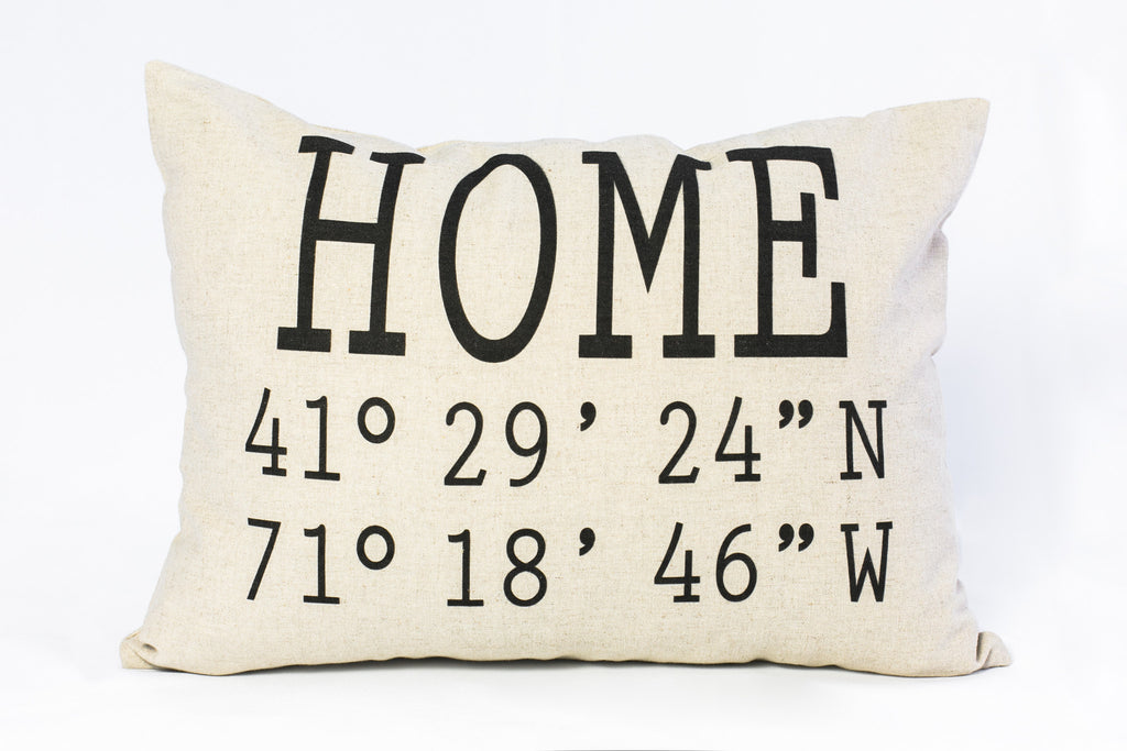 The Home Coordinate Custom Pillow