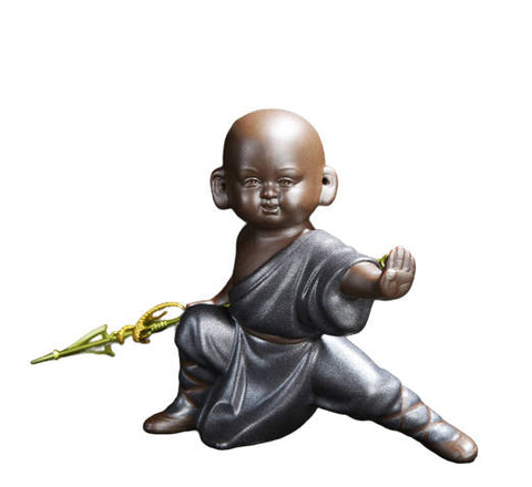 Statue Bouddha<br> Kung-fu