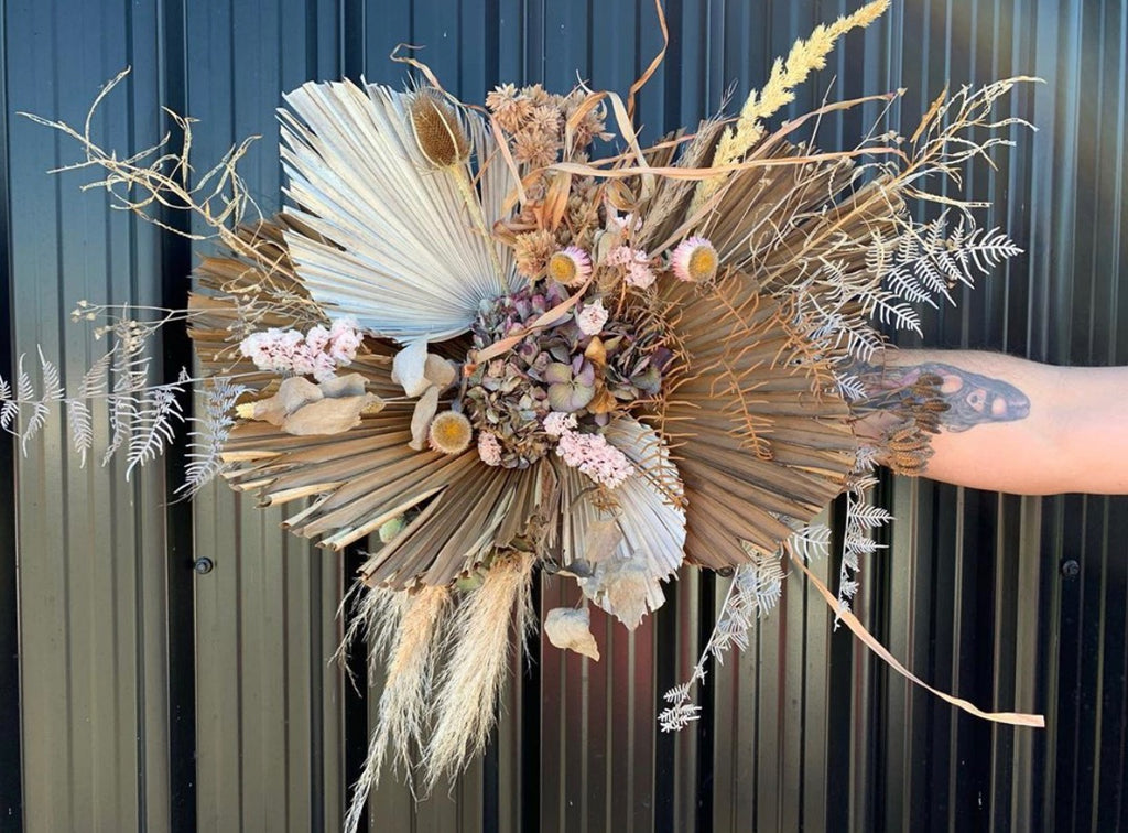 Dried Floral Installation Workshop - 9th August 2020