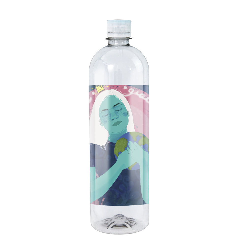 "Zoe Water Limited Edition ""Gratitude"" Bottle"