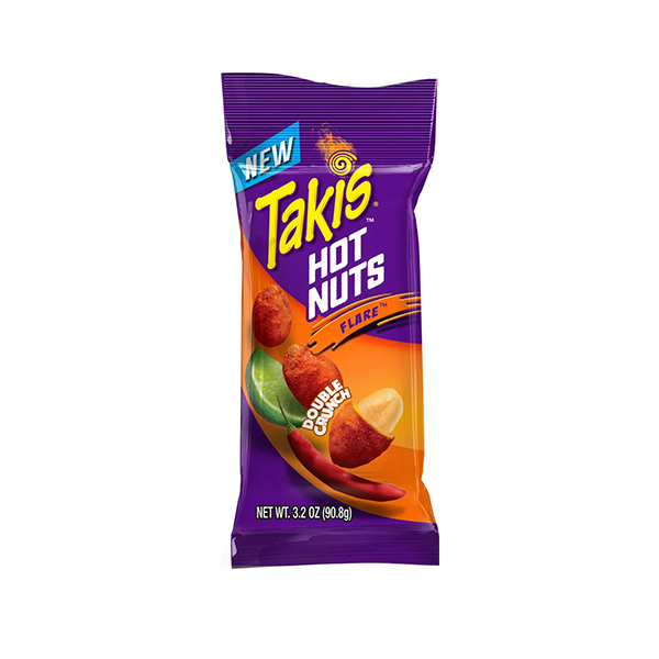 Takis Hot Nuts Flare (Chili-Lime)