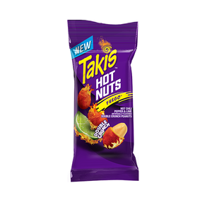 Load image into Gallery viewer, Takis Hot Nuts Fuego
