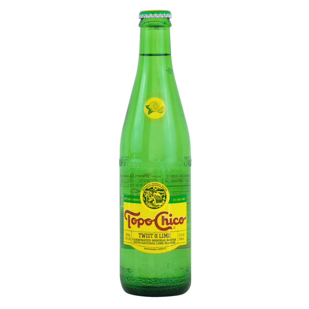 Load image into Gallery viewer, TopoChico Lime (Glass)
