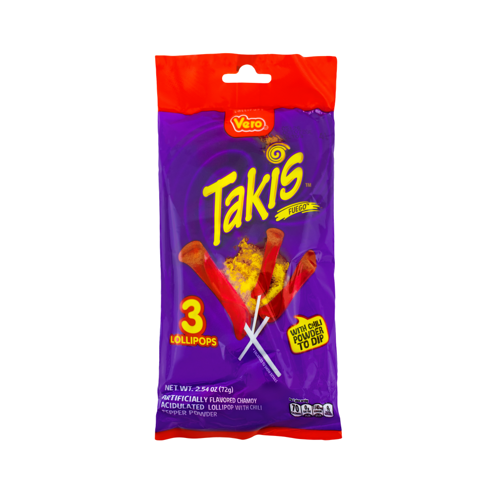 Load image into Gallery viewer, Takis Fuego Lollipops