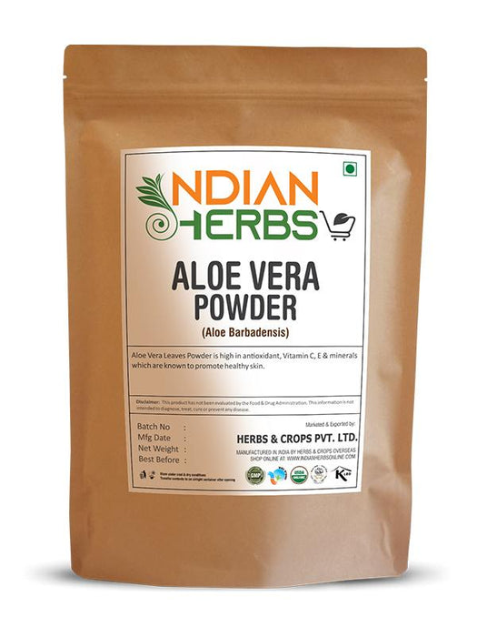 Aloe Vera Powder - Aloe Barbadensis - 1KG / 2.2 LB ( Value Pack )
