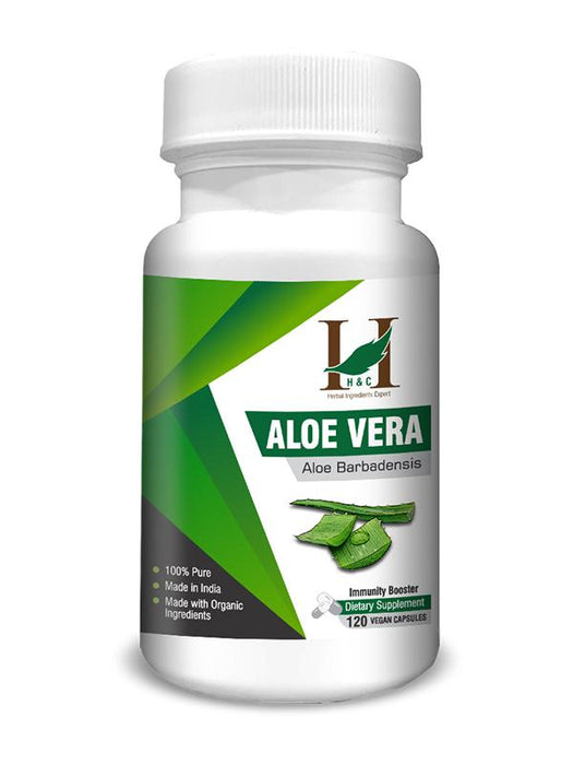 Aloevera Capsules - Dietary Supplements - 450mg (120 Capsules)