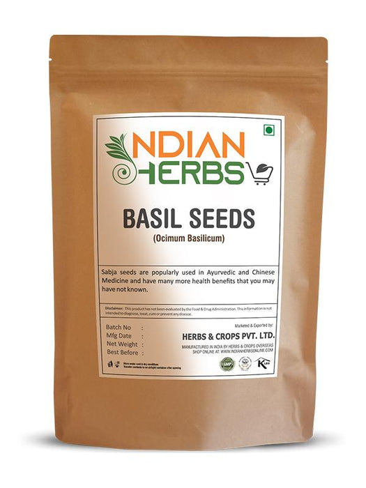 Indian Herbs Online Basil Seed 1KG / 2.2 LB For Sale
