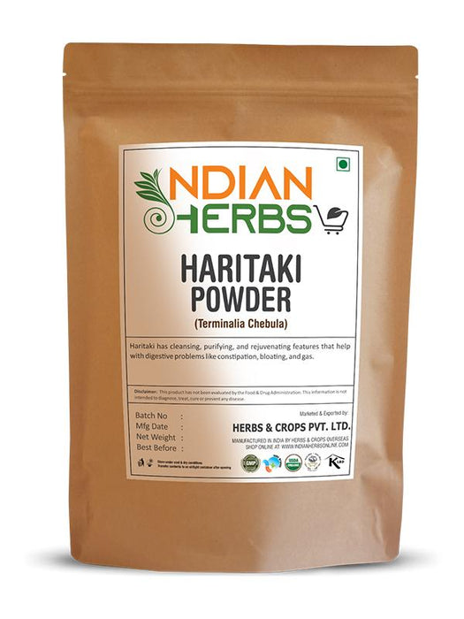Haritaki Powder - Terminalia Chebula - 1KG / 2.2 LB ( Value Pack )
