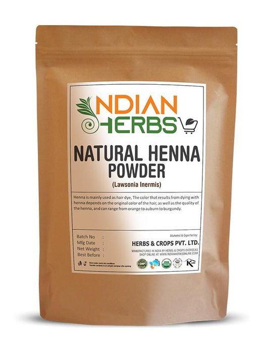 Natural Henna Powder - Lawsonia Inermis - 1KG / 2.2 LB
