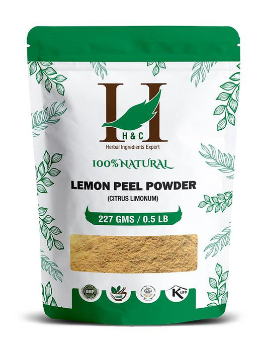 Lemon Peel Powder - Citrus Limonum (0.5 LB - 227g)